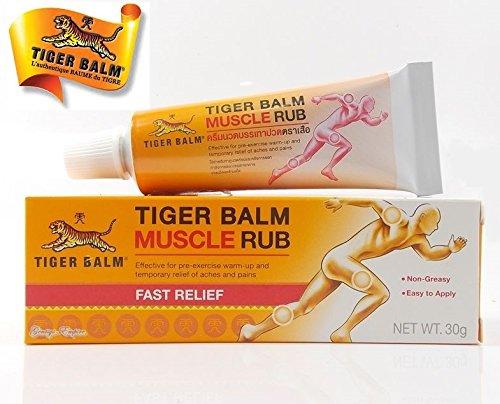 Crème chauffante BAUME DU TIGRE VERITABLE - Gel pommade muscle sport anti-douleurs...