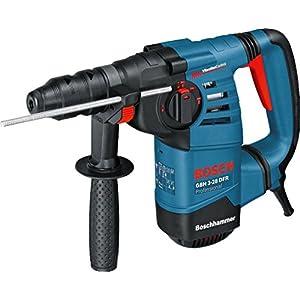 Bosch Professional GBH 3-28 DFR – Martillo perforador (3,1 J, máx. hormigón 28 mm, portabrocas SDS plus + cilíndrico, en maletín)