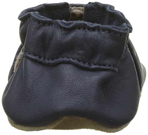 TG-23-24-EU-Robeez-Myfirst-Pantofole-Unisex-Bimbi-Blu-Marine-Perm-10-23 miniatura 2