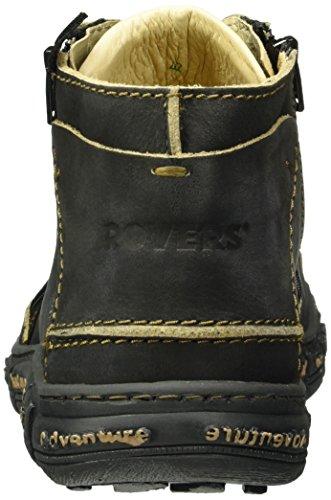 Rovers - Rovers, Stivali bassi con imbottitura leggera Unisex – Adulto Nero (Nero (Negro))