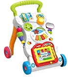 Plutofit® Children Music Walker with Lights and Fun Developmental Activities, Push and Pull