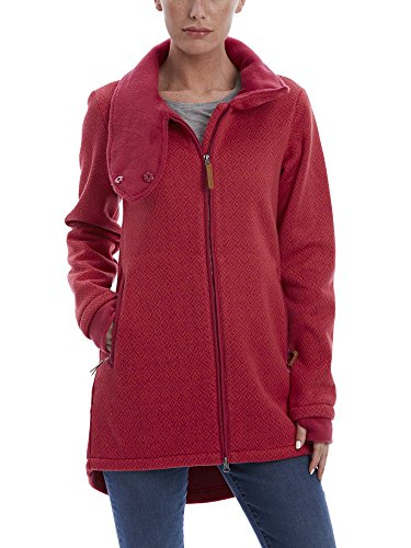 Bench Cappotto Maglia CHARACTER, Donna, CHARACTER, Rosa scuro, L