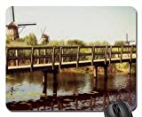 Ponte di stagno in Mulino country-Mouse Pad, tappetino per Mouse, ponti Mouse Pad)