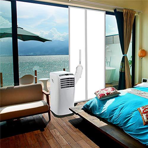 ANK-SNL Türabdeckung Türabdichtung für mobile Klimageräte, Klimaanlagen, Wäschetrocknerund Ablufttrockner | Klimaanlage Auslass | Hot Air Stop zum Anbringen an Tür, 210 X 90 cm