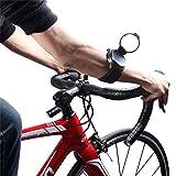 ICOCOPRO Fahrradspiegel - slim Passform, drehbar & klappbar Spiegel Bike backeye verstellbar Armband Handgelenk tragen Bike Spiegel für Sicherheit Rear View Biking Zubehör