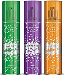 wottagirl classic combo of 3 fragrances
