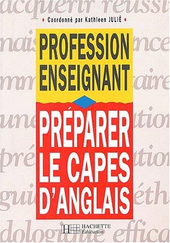 Préparer le CAPES d'anglais