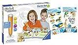 tiptoi Ravensburger 00806 - Starter-Set: Stift und Wörter-Bilderbuch + 2 x Create Sticker (Verschiedene Auslieferungen)