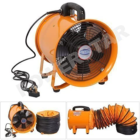 Portable Ventilator Industrial Air Axial Metal Blower Commercial Exhaust Workshop Extractor Fan