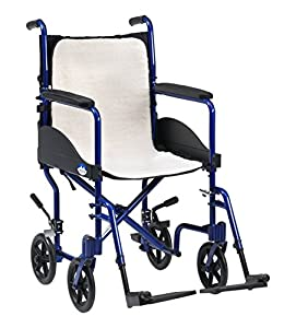 Drive DeVilbiss Healthcare Mobility Fleece Overlay Cushion Suitable for Electric / Manual Wheelchair