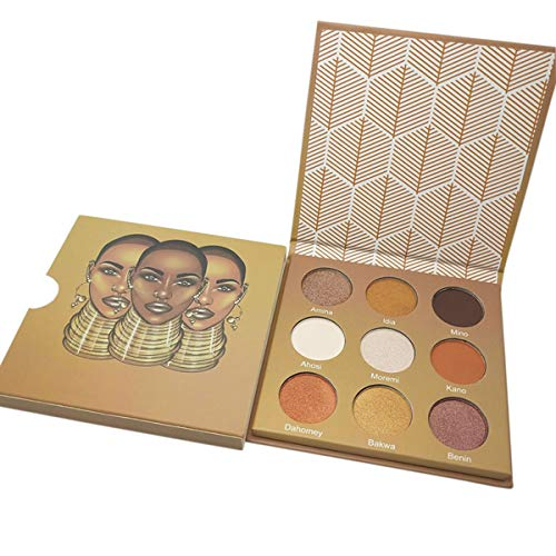 RSKD Lidschatten 9 Farben Make-Up Lidschatten Pallete Glitzer Injektionen Gedrückt Glitter Lidschatten Schimmer Lidschatten-Palette (Gedrückt Glitter Lidschatten)