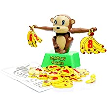 ZMH Monkey Match Math Balance Balancing Scale Match Number Juego De Equilibrio Juego De Mesa Juego