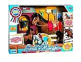 Rstoys 9322 - Playset Cavalli al Maneggio con 2 Animali