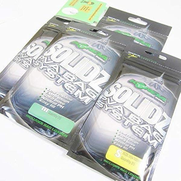 Tasche Lader Alle Größen Karpfenangeln Korda Solidz Pva Beutel Inkl