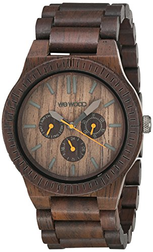 WEWOOD Quarzuhr Kappa Chocolate WW15003