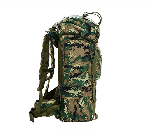 Outdoor Rucksack Tarnung Große Multifunktionale Bergsteigen Tasche junglecamouflage