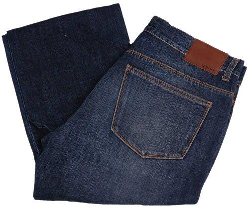 Gant Jeans da uomo pantaloni 2. Wahl, Model: TYLER, colore: blu scuro,--, nuovo---, upe: 149.90Euro Dunkelblau 32 W/34 L