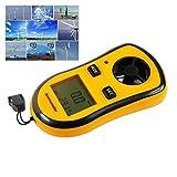 Digital Anemometer, V-Resourcing Hand-held LCD Backlight Wind Speed Measuring Anemometer for Windsurfing Kite Flying Sailing Surfing Fishing Etc
