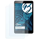 Bruni Schutzfolie für Huawei MediaPad T3 7.0 3G Folie - 2 x glasklare Displayschutzfolie