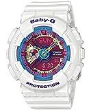 Baby-G Damen-Armbanduhr XL Baby-G Analog - Digital Quarz Resin BA-112-7AER