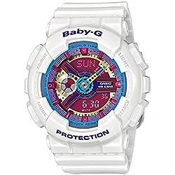 Casio Baby-G Reloj Analógico/Digital de Cuarzo para Mujer con Correa de Resina – BA-112-7AER