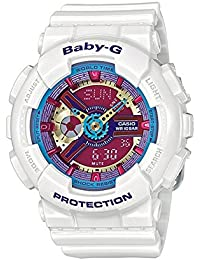 Casio Baby-G – Damen-Armbanduhr mit Analog/Digital-Display und Resin-Armband – BA-112-7AER