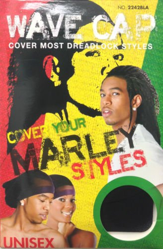Magic Collection MARLEY Styles Wave Cap Cover Most Dreadlock Styles #2242BLA by Magic Collection