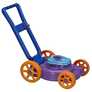 American Plastic Toy Nesting Lawn Mower (Colors May Vary)