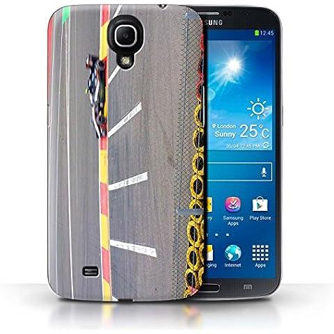 Carcasa/Funda STUFF4 dura para el Samsung Galaxy Mega 6.3 / serie: Pista Carreras Foto - Coche Carreras