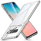 ESR Coque pour Samsung Galaxy S10 Plus, Bumper Etui de Protection Transparent en Silicone TPU Mince-Souple, Housse Silicone Flexible pour Galaxy S10+ (2019) (Série Essentiel Zéro, Transparent)