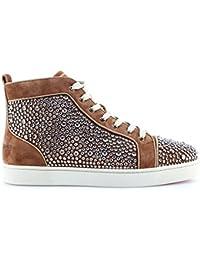 40c2c3762ef Christian Louboutin Paris Chaussures Homme Sneaker Louis Orlato Flat Indi  Strass