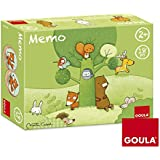 Goula - 53435 - Jouet De Premier Age - Memo Tom Et Ses Amis De La Forêt