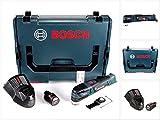 Bosch GOP 12V-28 Professional Akku Multi Cutter Brushless mit Starlock in L-Boxx + 1 x GBA 12 V 3,0 Ah Akku + GAL 1230 CV Ladegerät