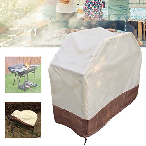Anddod 150x56x116CM BBQ Grill Waterproof Cover Outdoor Patio Barbecue Stove Rain Dust Protector Rain Protector