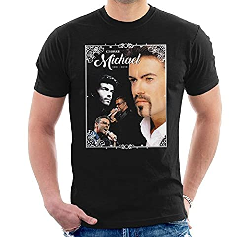 George Michael 1963-2016 Tribute Men's T-Shirt
