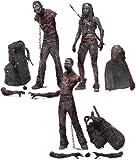 Walking Dead TV Serie 3Bloody und Action Figur (schwarz/weiß), 3Stück