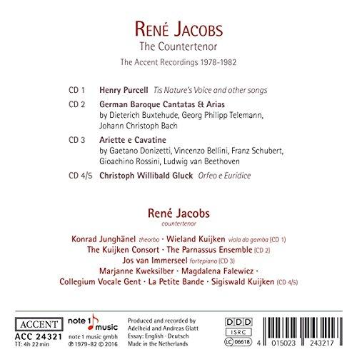 Rene Jacobs le Contretenor