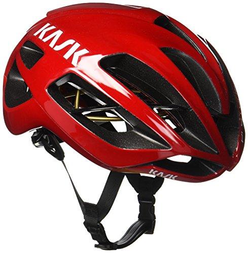 Kask Protone - Casco de ciclismo multiuso, color Rojo, talla M