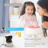 APEMAN WiFi IP Camera 720P Wireless Home Security Surveillance CCTV Indoor Camera with Night Vision Baby Pet Remote Monitor Motion Detection Two Way Audio Pan/Tilt/Zoom Bild 2