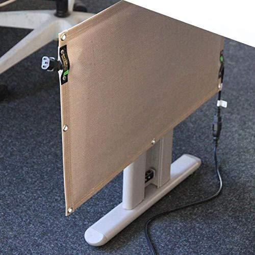 Universal-Heizung - Schreibtischheizung - FlexiHeat NSH180 - PTFE-Nano-Carbon - 230 V