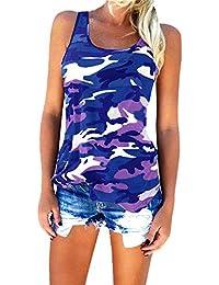 Highdas Womens Camouflage Shirt Military Fashion Tops