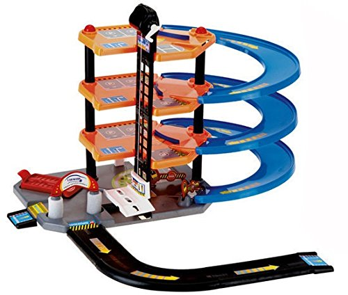 Parkhaus Parkgarage Autogarage Spielzeugauto Spielzeug Auto Parking Center