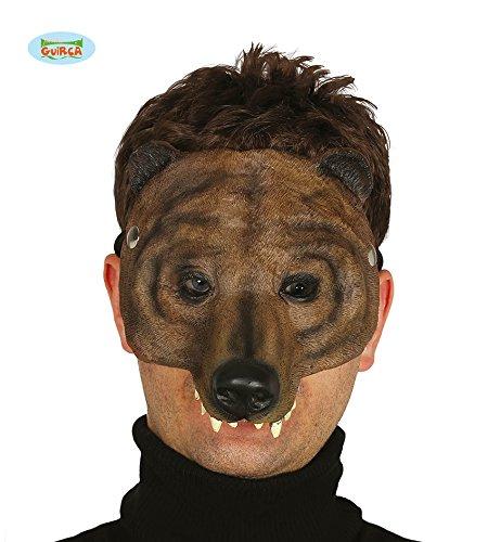 Bären Latex Maske Halloween Horror Halloweenmaske maske Tiermaske (Halb Bär Kostüm)
