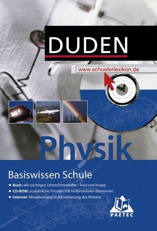 Duden Basiswissen Schule, m. CD-ROM, Physik