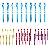Sharplace 40 Pedazos de Ejes de Dardo Pieza de Recambio en Deportes Color Mezclado