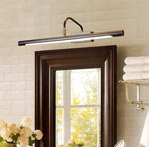 Spiegel Scheinwerfer Amerikanischer Spiegel Scheinwerfer Badezimmer Amerikanische Lampe Kupfer Spiegelschrank Wasserdichte Wandlampe Retro Badezimmer Spiegel Scheinwerfer Spiegellampen ( größe : 56cm )
