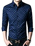 Icegrey Homme Chemise Point Floral Casual Slim Fit Mode à ...