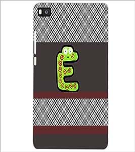PrintDhaba GRANDbet E D-4329 Back Case Cover for HUAWEI P8 (Multi-Coloured)