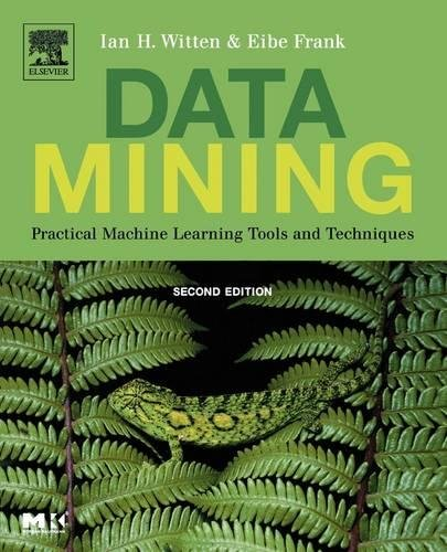 Data Mining: Practical Machine Learning Tools and Techniques, Second Edition (The Morgan Kaufmann Series in Data Management Systems) por Ian H. Witten