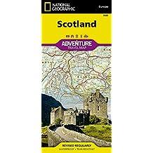 Scotland (National Geographic Adventure Travel Maps)